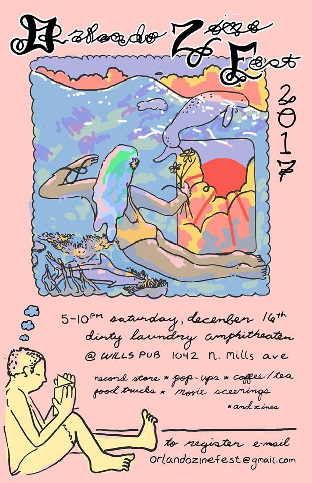 12/16 – Orlando, FL @ Orlando Zine Fest