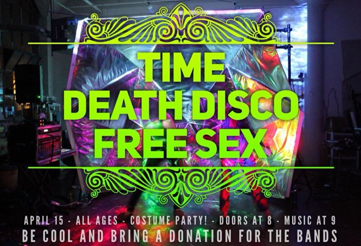 TIME/Death Disco/Free Sex COSTUME HOUSE SHOW