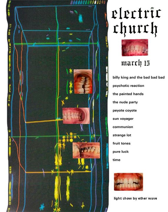 3/15 — Austin TX @ The Electric Church (SXSW)