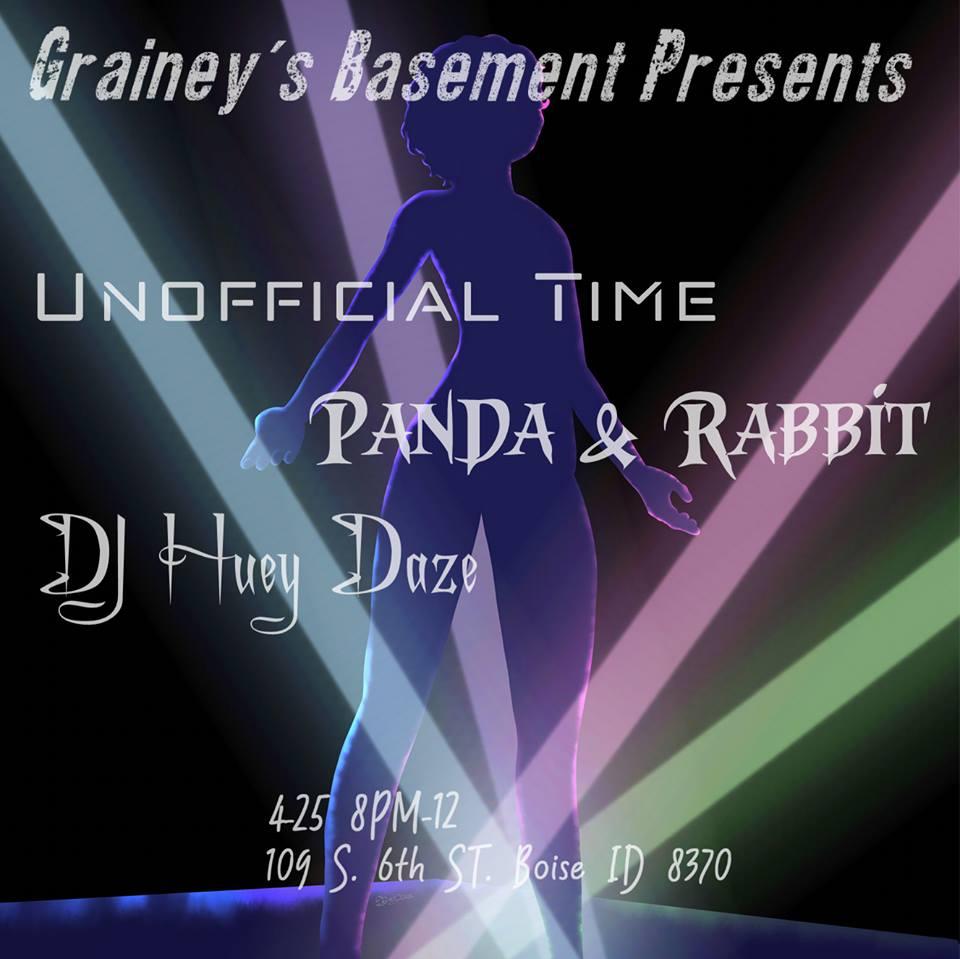 4/25 — Boise ID @ Grainey's Basement