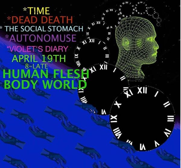 4/19— Portland OR @ Human Flesh Body World