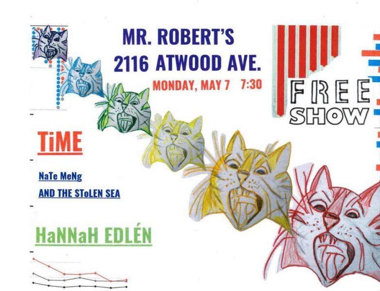 5/7 — Madison WI @ Dr. Robert's