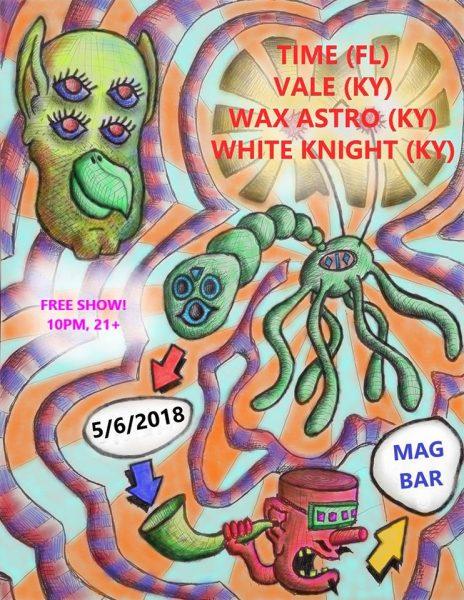 5/6 — Louisville KY @ Mag Bar